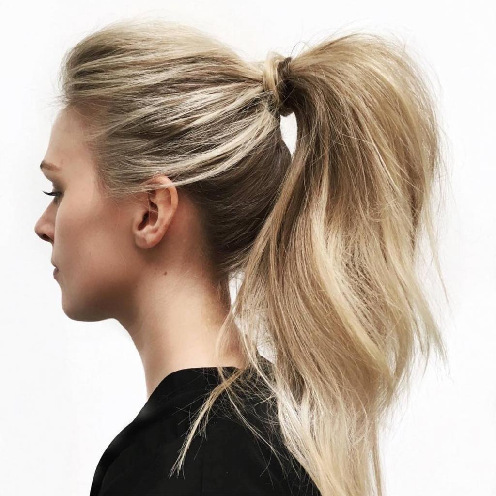как заколоть длинные волосы